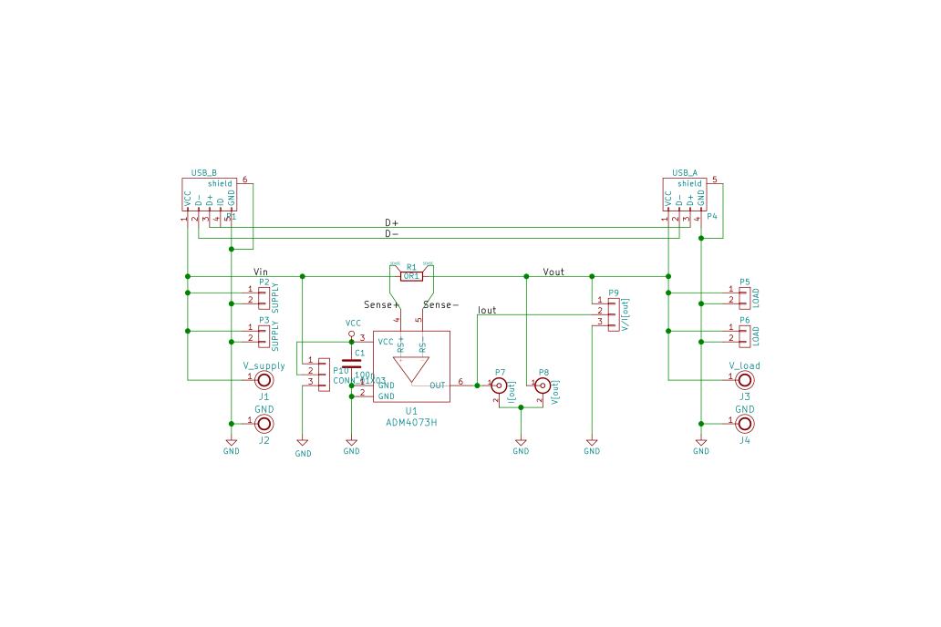 Oscilloscope Current Probe Adapter 9