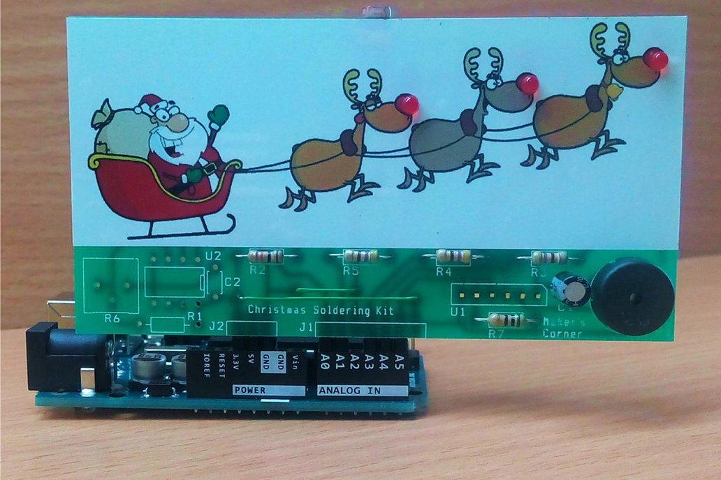 Christmas Soldering Kit 1