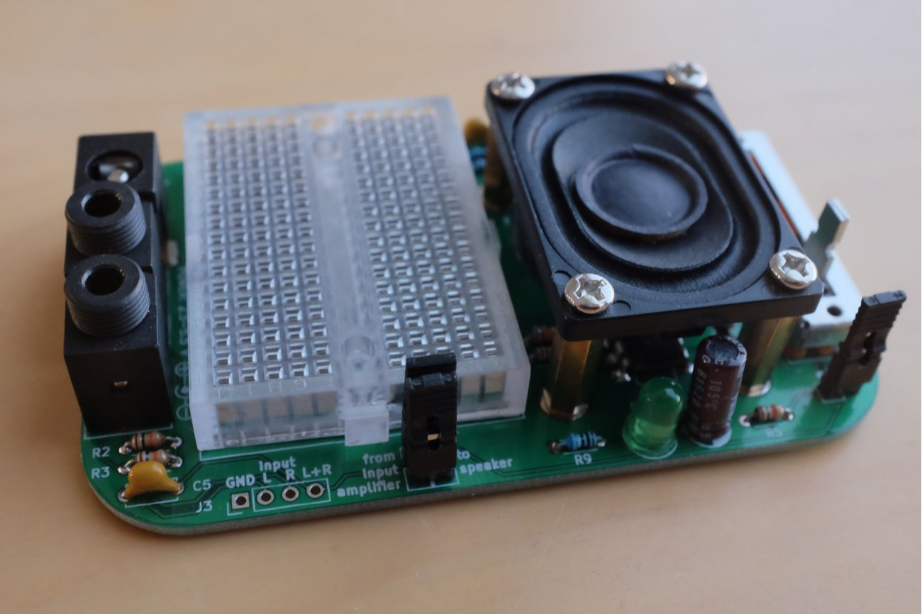 Experimenter's audio amplifier kit