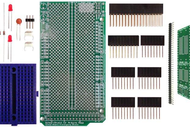 SchmartBoard|ez SOIC Arduino Mega Shield Kit
