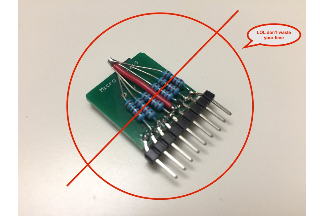 MicroSD/TF breakout with pull up resistors 3