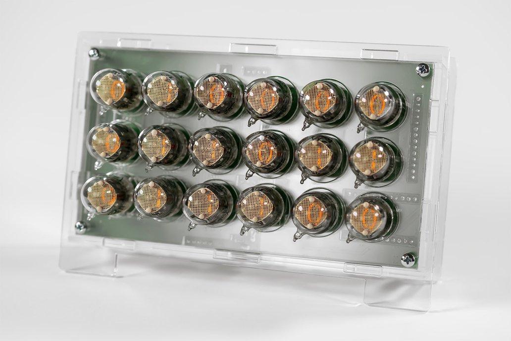 IN-2 Binary Nixie Clock Kit 1