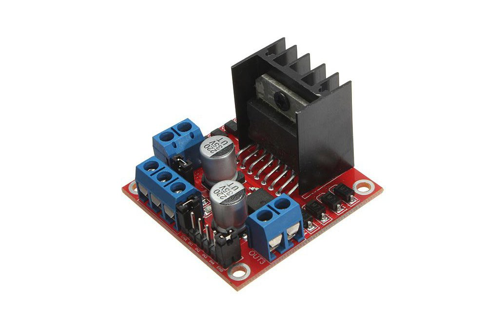 L298N Dual H Bridge DC Stepper Motor Driver Module Controller Board For Arduino 1