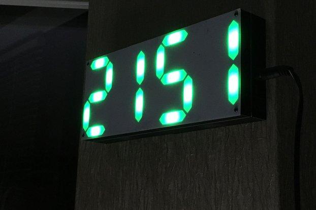 LED Pixel Clock Shield for ESP8266