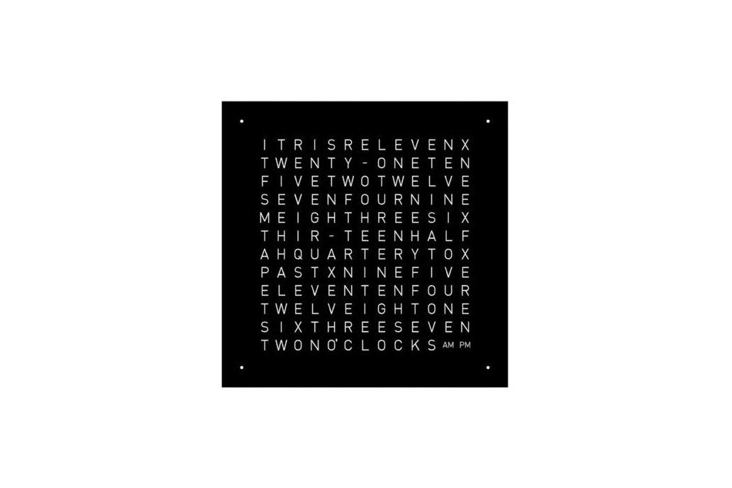 Wordclock - Frontpanel - 40x40cm 1