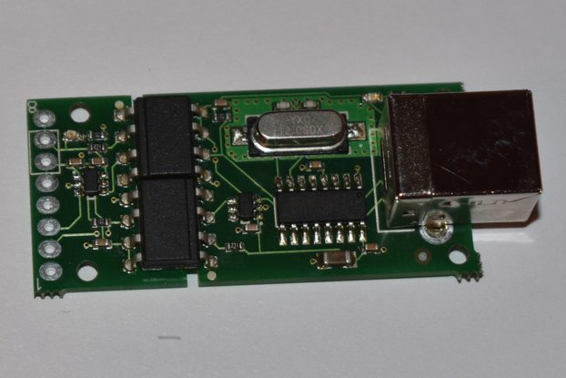 Optically Isolated USB-UART Adapter