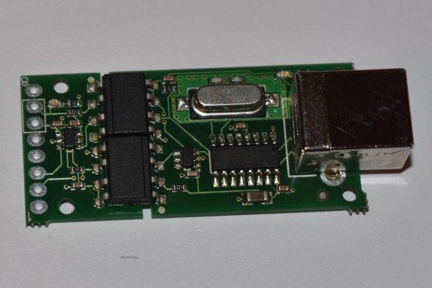 Optically Isolated USB-UART Adapter