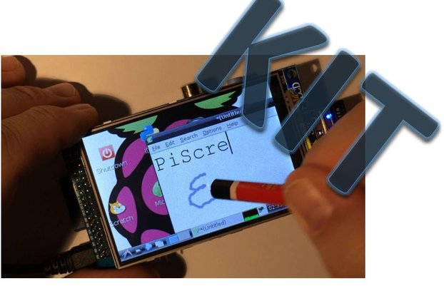 """PiScreenKIT:3.5"""" TFT & touch for the Raspberry Pi"""