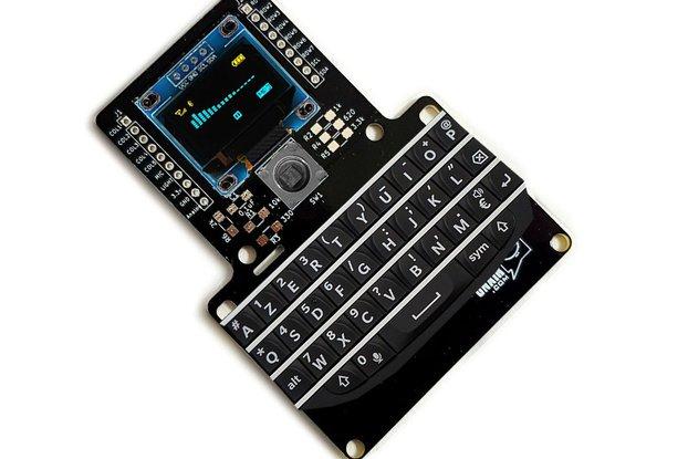 BlackBerry Q10 Kb Prototyping Breadboard