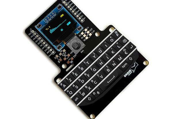 BlackBerry Q10 Kb Prototyping Breadboard