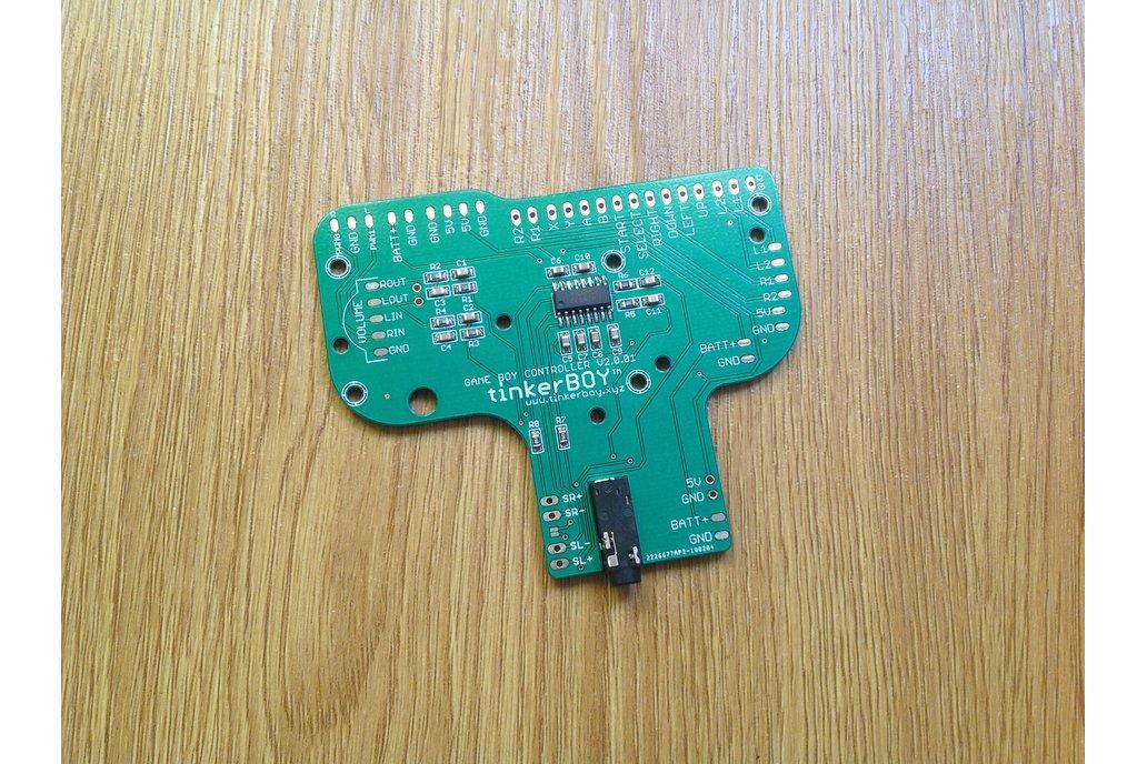 Game Boy Controller v2.0 w/ Built-in Audio Amp 2