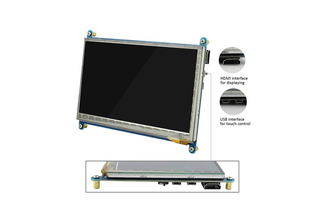 7 Inch Touch Screen Monitor 4