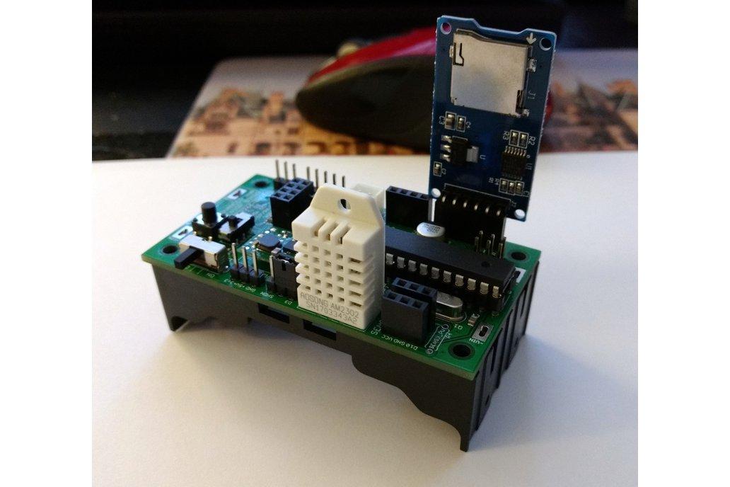 Battery-Powered Wifi Temp/Humidity Sensor v2 5