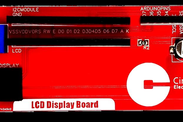 Circle LCD Board