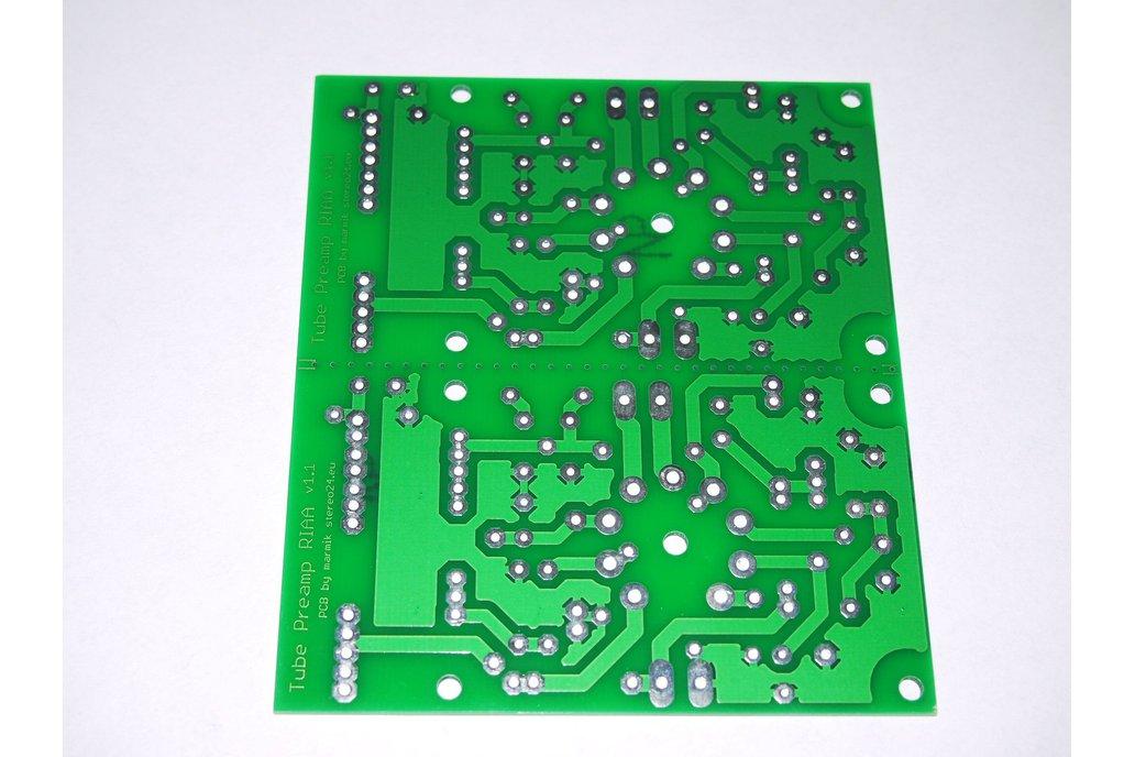 PCB Tube Phono Preamplifier RIAA ECC88, 81, 82, 83 2