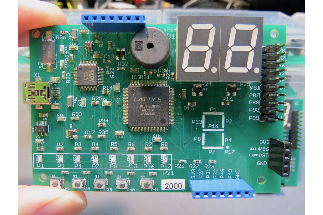 Lattice FPGA prototyping board 7