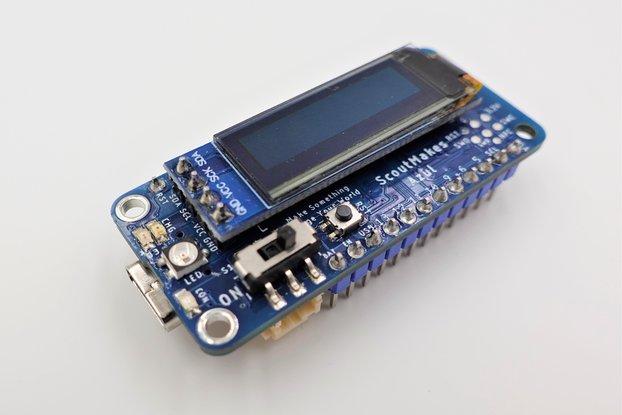 ScoutMakes Azul nRF52840 Bluetooth Maker Platform