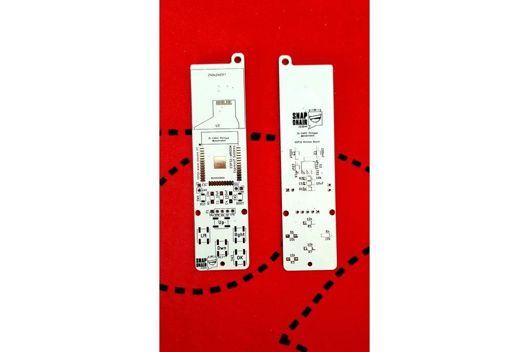 ESP32 Keyring PCB 1