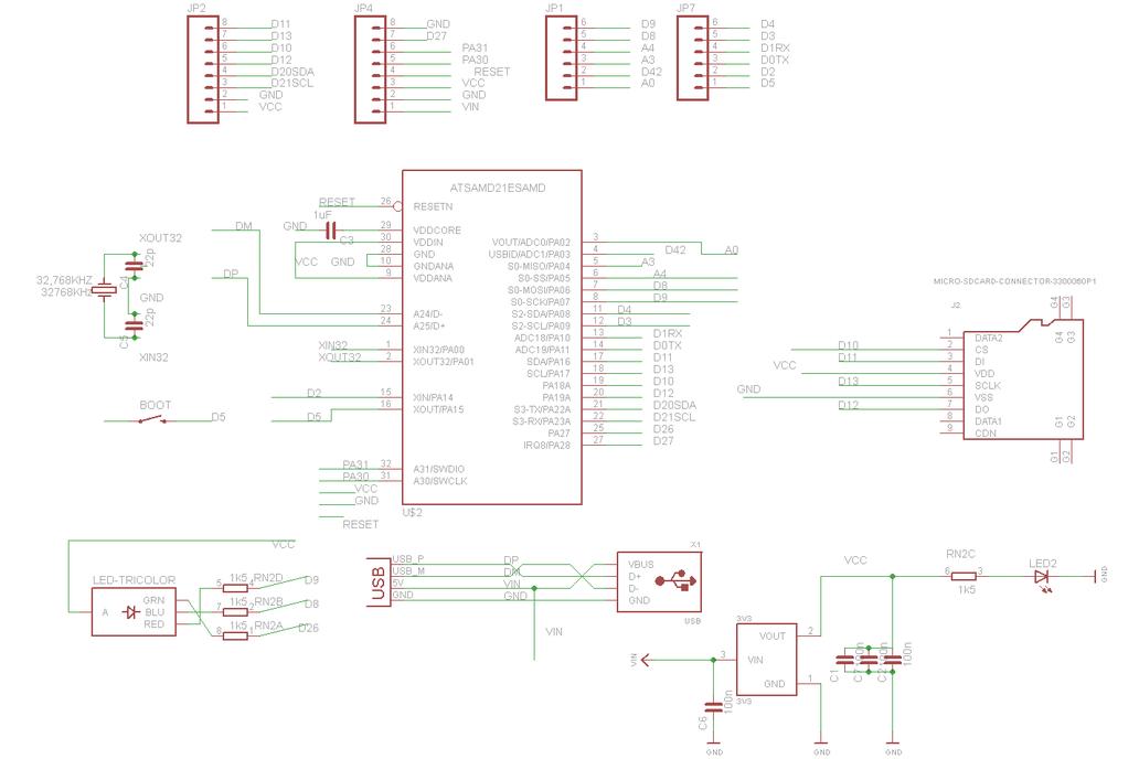 WINXI - arduino ZERO  M0 stick AtSamD21E18 SAMD21 5