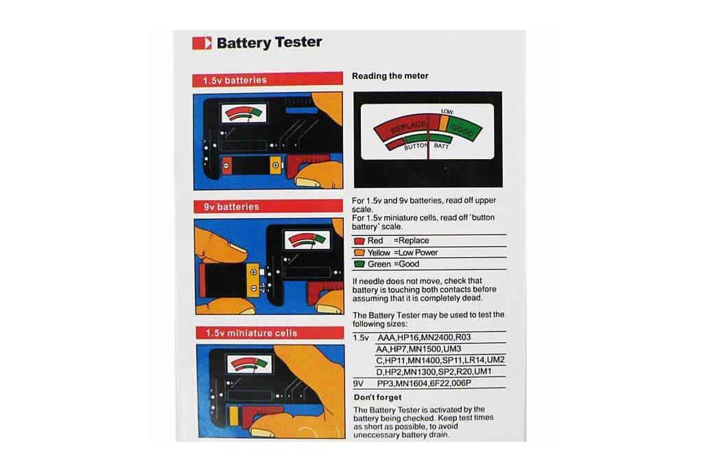 Universal Battery Tester 4