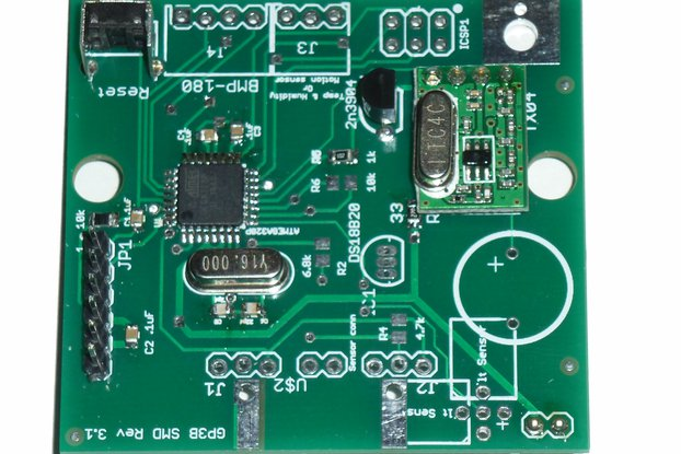 DIY Wireless Sensor board