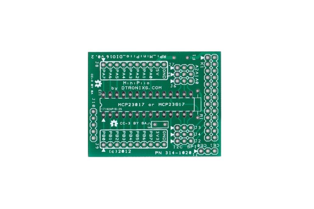 Raspberry Pi PIIO - DIO16 16ch Port Expander (PCB) 1
