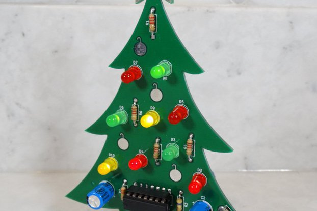 Christmas Tree - Soldering Practice Kit