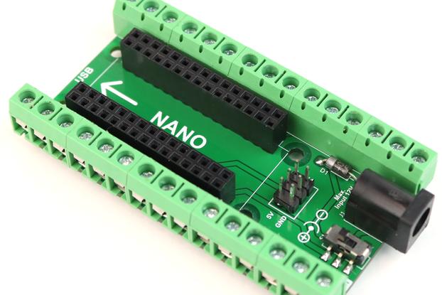 Arduino Nano Terminal Adaptor