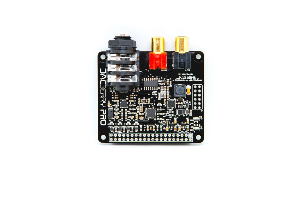 DACBerry PRO for Raspberry Pi Sound Card 3