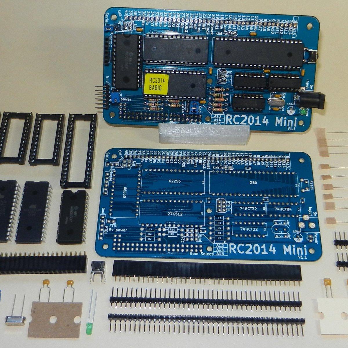 RC2014 Mini - Single Board Z80 Computer Kit by RFC2795 Ltd on Tindie