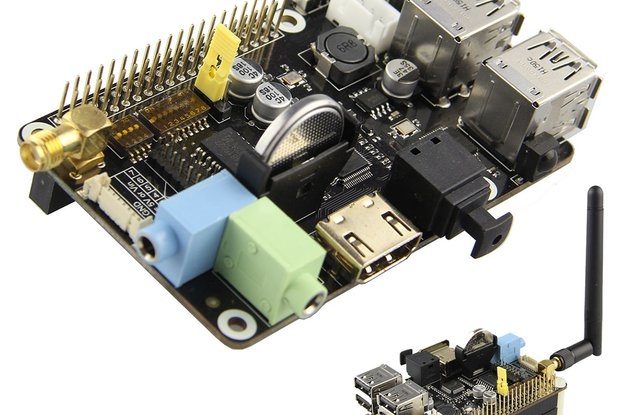Multifunction Expansion Board For Raspberry Pi B+