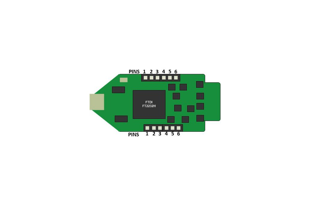 FTDI Breakout Board With Two Serial Ports  5