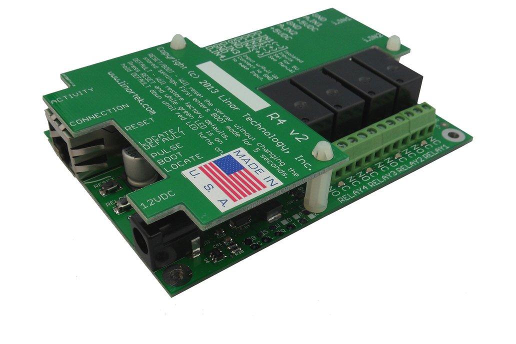 FARGO G2R4DI TCP/IP Web Relay Ethernet I/O POE 2