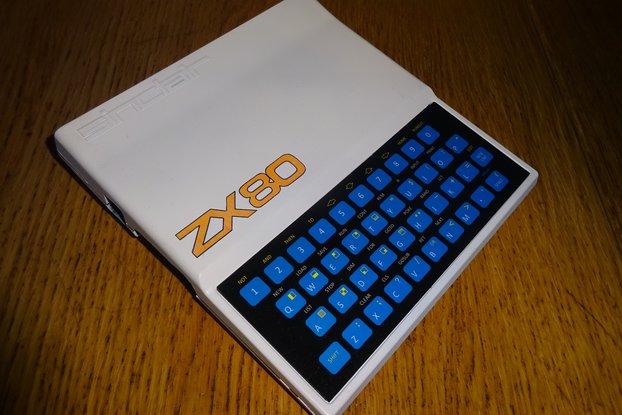 Minstrel ZX80 Clone in ZX81 case