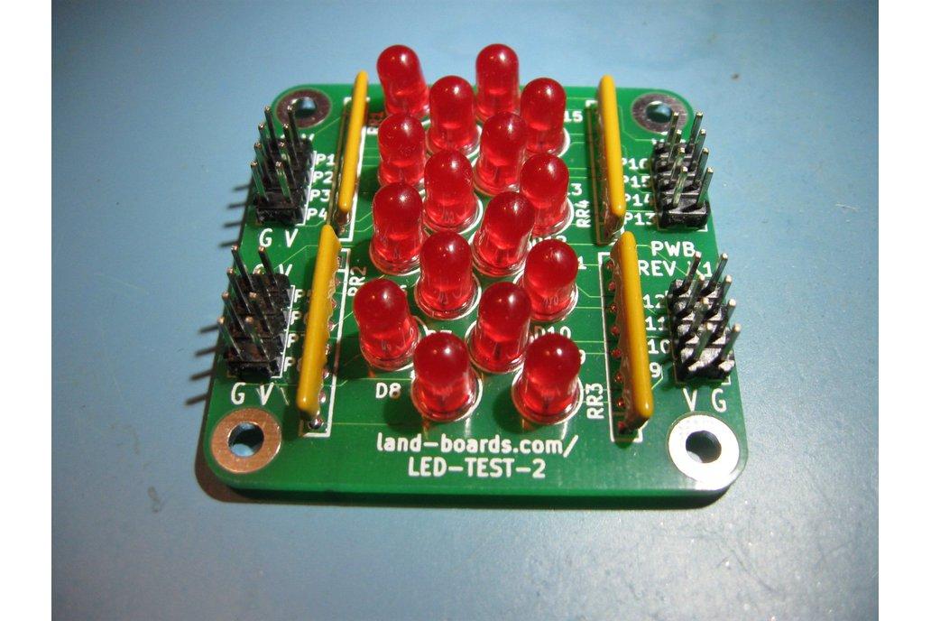 16 LEDs (LED-TEST-2) 1