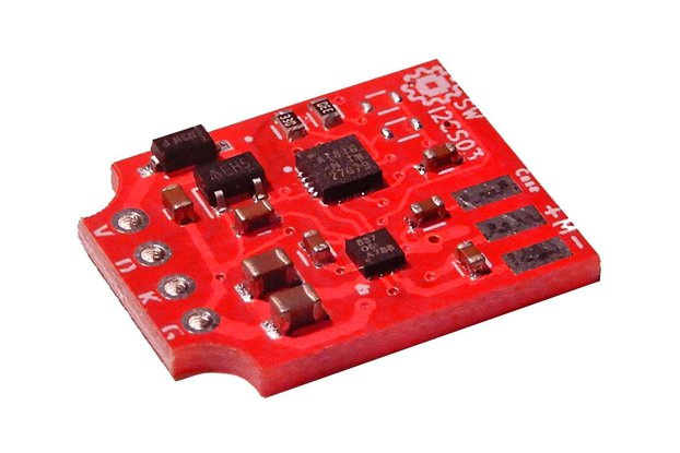 DIY I2C Smart Servo Board   -DRV8837 (1.5A, 6Kg)