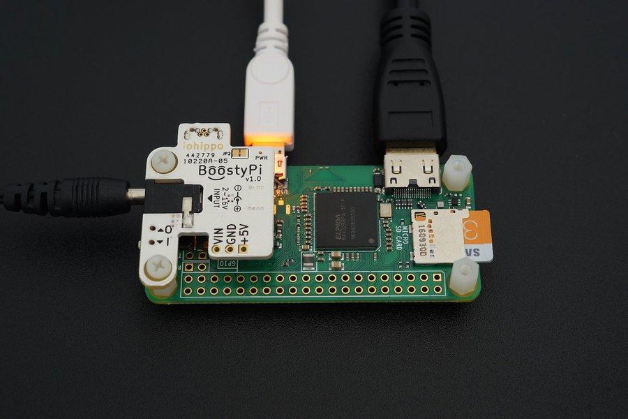 BoostyPi - Power up Raspberry Pi Zero with 2-16v!