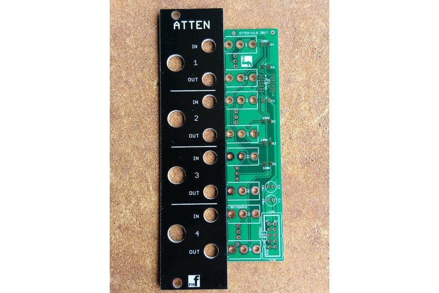 Buffered Attenuator (Eurorack PCB Set)