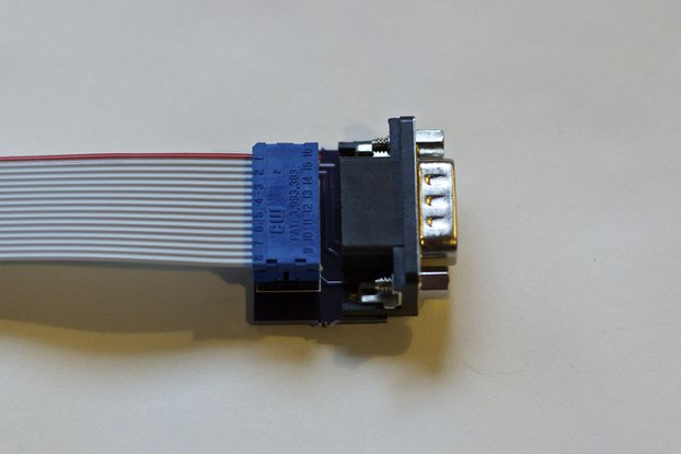 Joystick adapter for Apple IIc