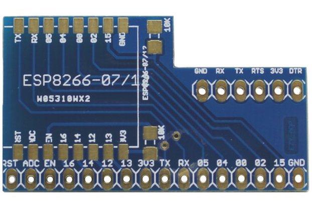 ESP8266 Vertical Adapter Board - EZY-ADP
