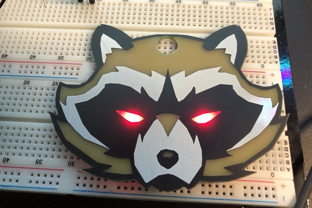 #Badgelife Trash Panda -  Standalone Badge