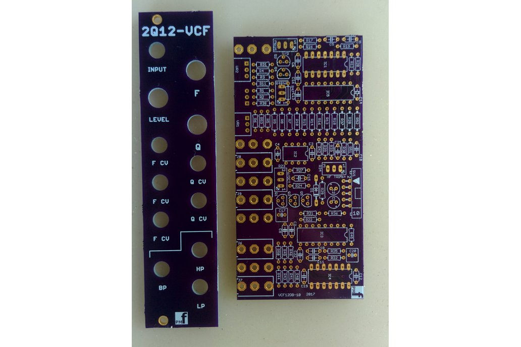 2Q12 VCF (Eurorack PCB Set) 3
