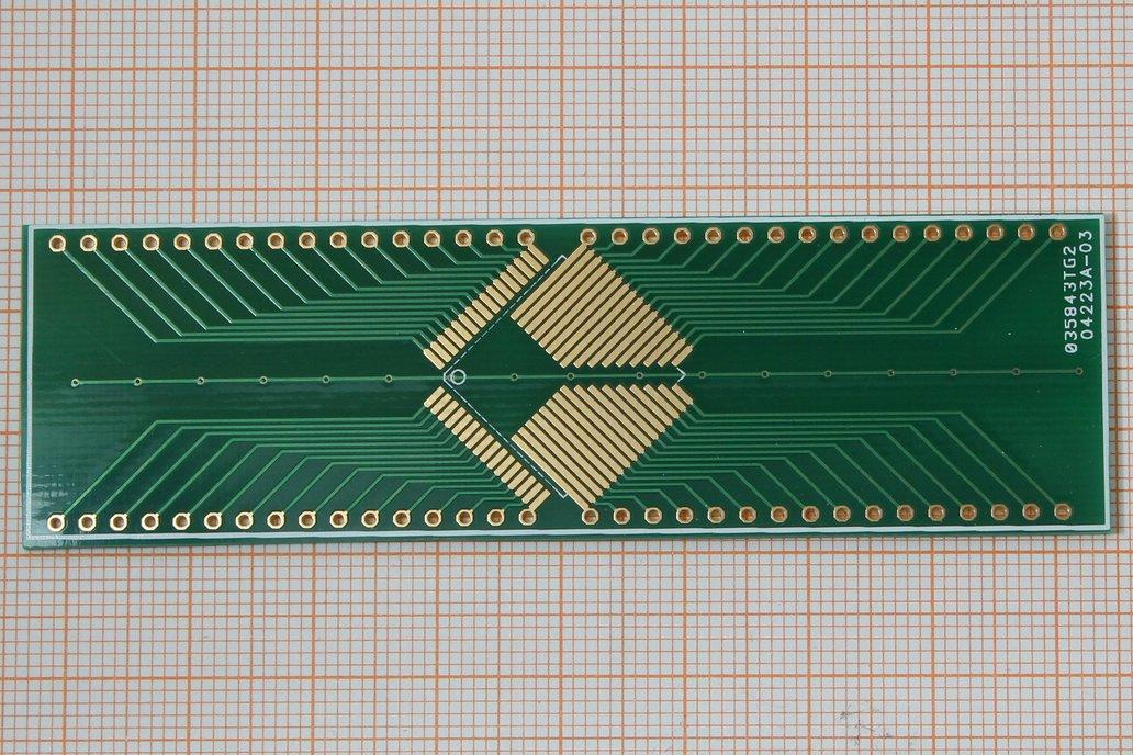 SMD Adapter TQFP64 0,8mm 1