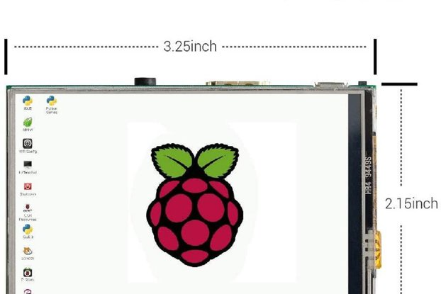 3.5 Inch Touch Screen HDMI TFT LCD Mini Display