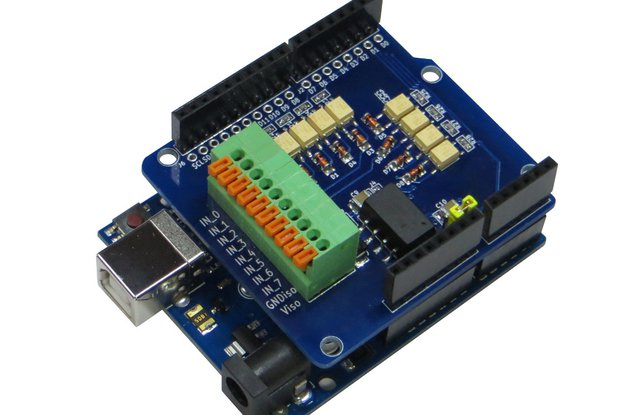 Digital Input Isolated (Arduino UNO Shield)