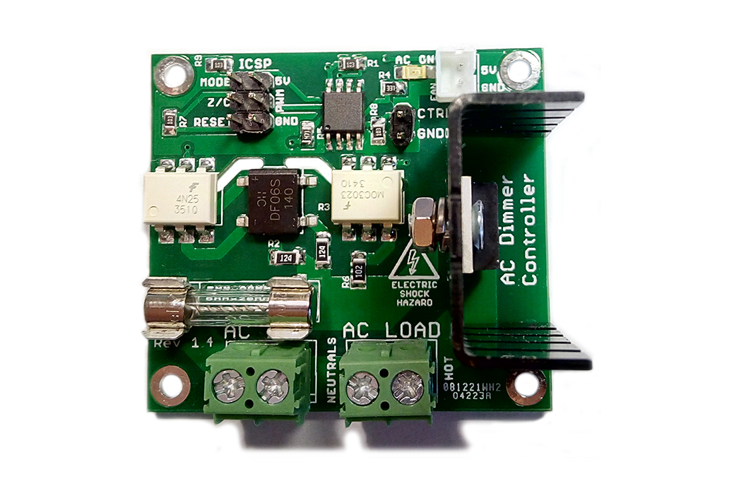 AC 60Hz/50Hz Dimmer/SSR Controller Board 2