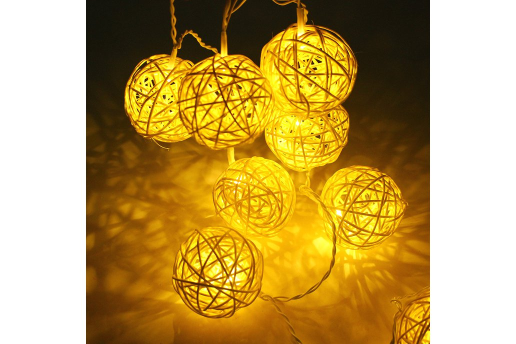 Ball String Christmas LED Lights 2
