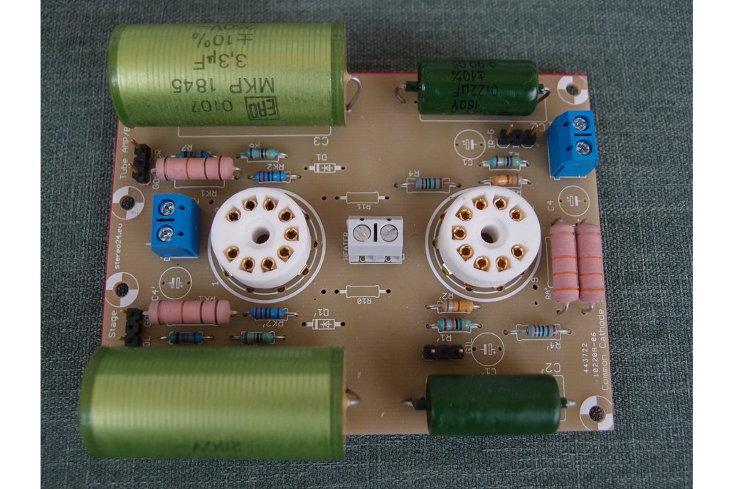 Universal PCB for tube preamp CCDA stage ECC88 5