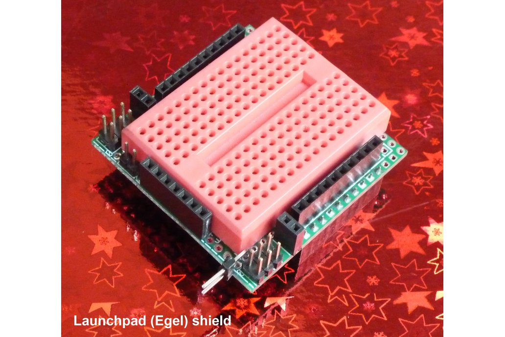 MSP-EXP430G Launchpad (Egel) shield kit 1