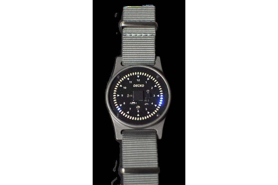 DECKO Circuit Face Watch